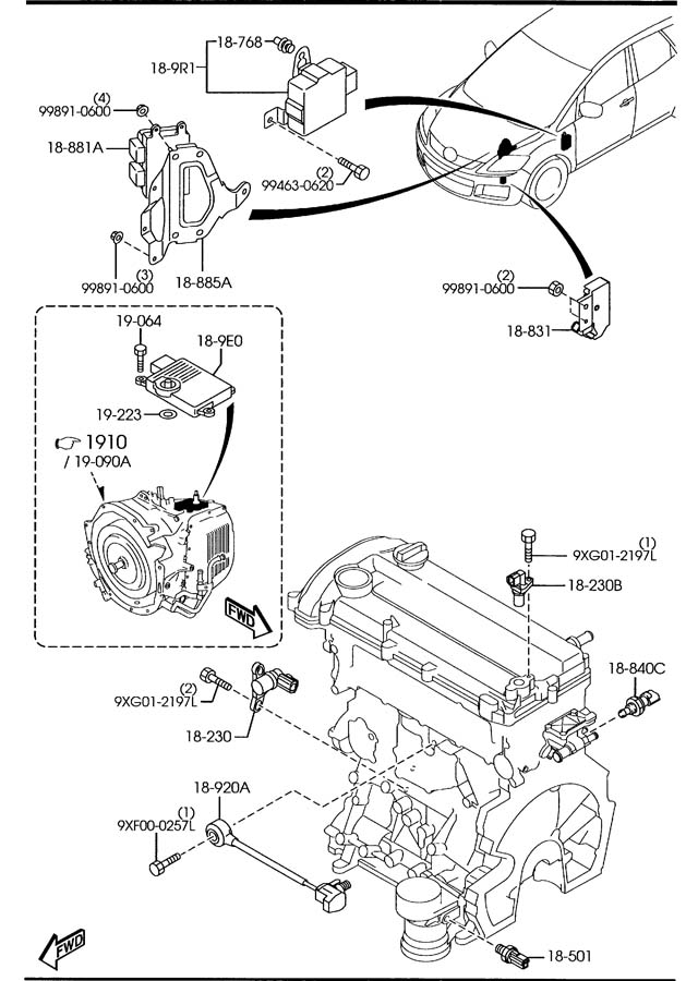 P 0996b43f80376efb together with Cadillac Sunroof Drain Diagram additionally Rx8 Wiring Manual 49075 in addition Dodge Transmission Parts Diagram further A6 All 2004 2010. on 2006 mazda 6 wiring diagram
