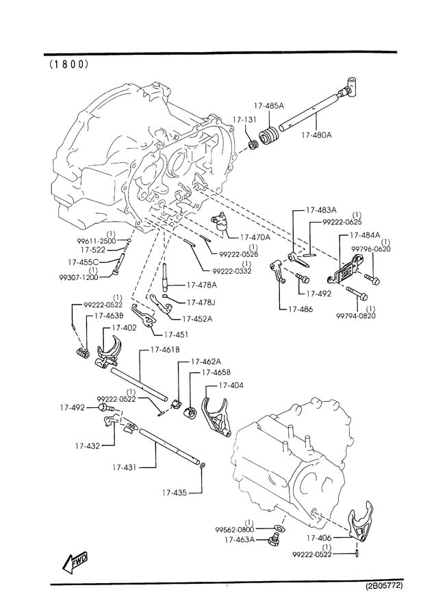 service manual  on board diagnostic system 1993 mazda