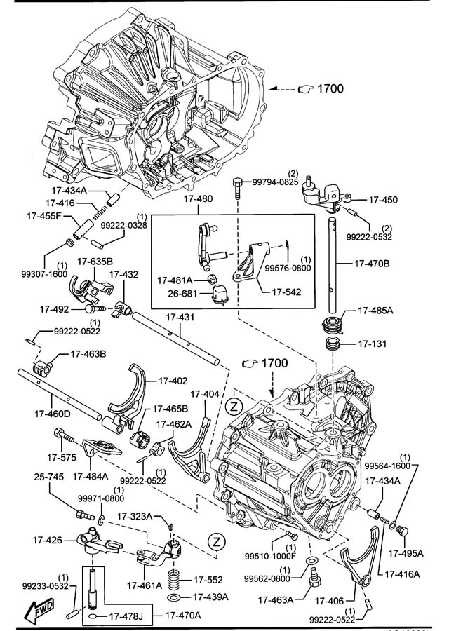mazda miata differential diagram