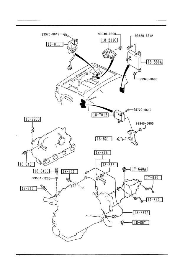1987 Mazda B2000 Carburetor Diagram Com