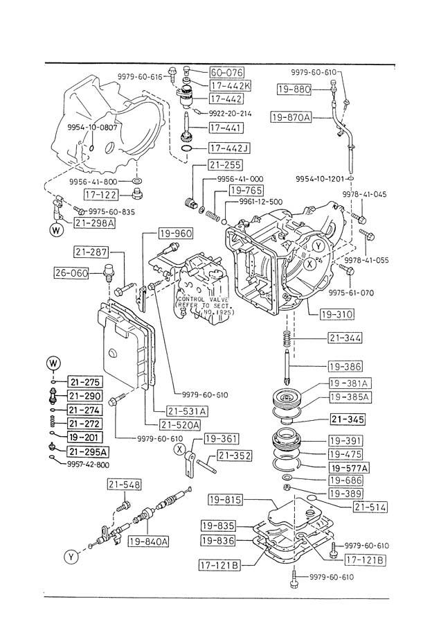 service manual  1987 mazda familia transmission fluid