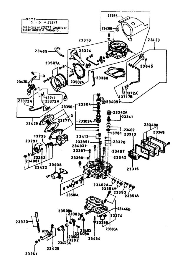 mazda b2200 carburetor diagram list  mazda  free engine
