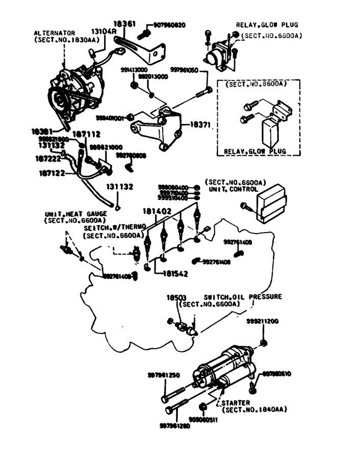 Engine Electrical System : Mazda b engine electrical system cc diesel